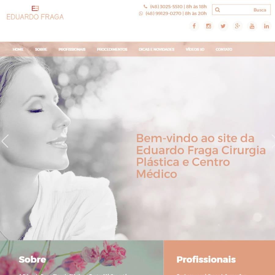 Clínica Eduardo Fraga lança novo site mais dinâmico e informativo