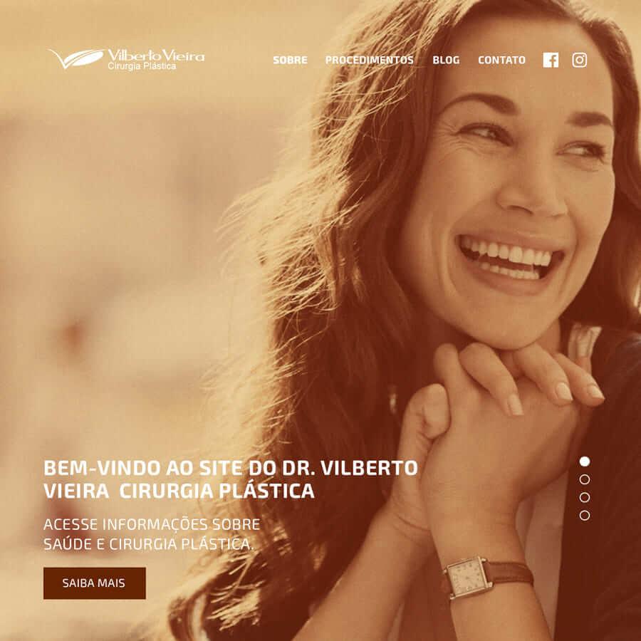 Como o Dr. Vilberto Vieira aumentou em 20 vezes as conversões via site