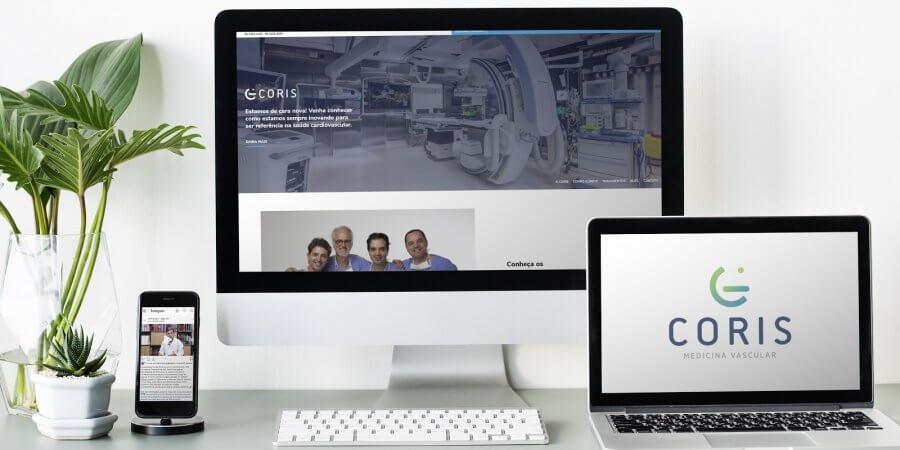 Coris Vascular: estratégias digitais e resultados expressivos, em parceria com a E-saúde