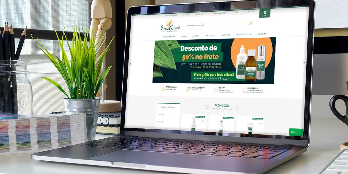 Como a Farmácia de Manipulação Seiva Natural aumentou em 60% o faturamento do seu e-commerce