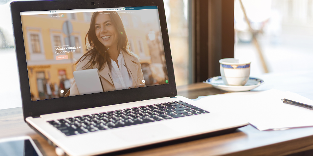 Clínica Aqua Vitae lança site e estratégia digital