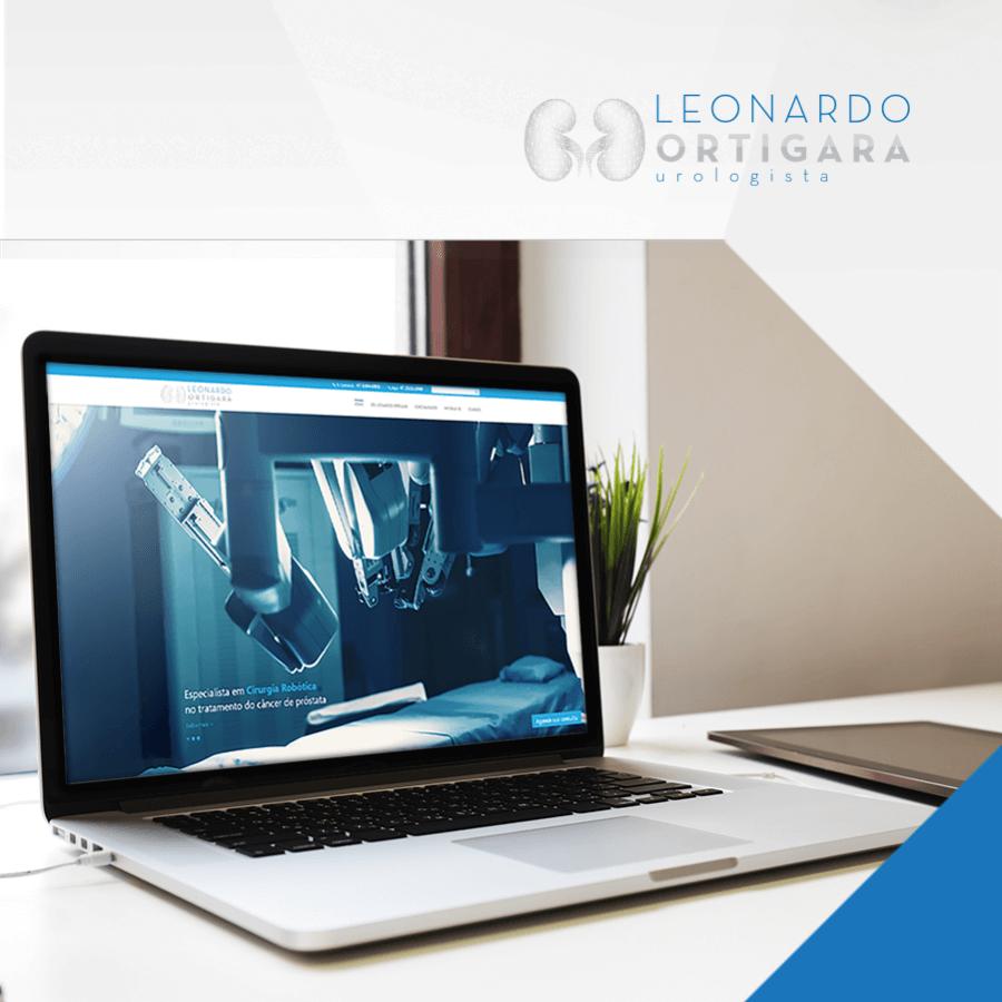 Como o Dr. Leonardo Ortigara alcançou a marca de 76 mil acessos ao site por dia