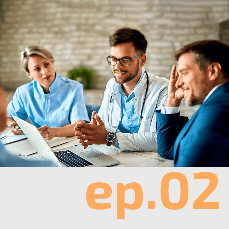 PODCAST 2 – Como gerenciar tempo/energia sendo dono e médico na clínica?