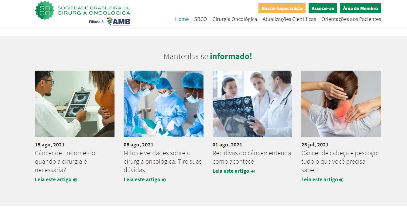 Referências de site para saúde em 2021